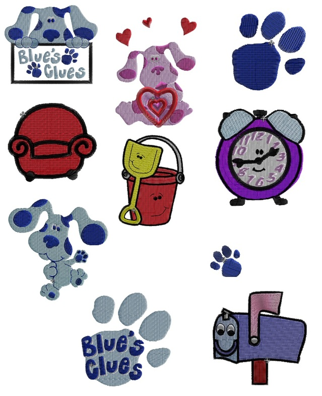 Blues Clues Set