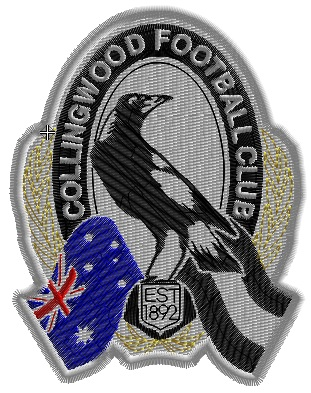 Collingwood Magpies - Set of 3 Designs