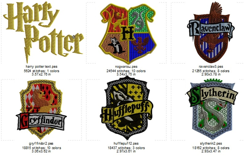 Harry Potter Set - Click Image to Close