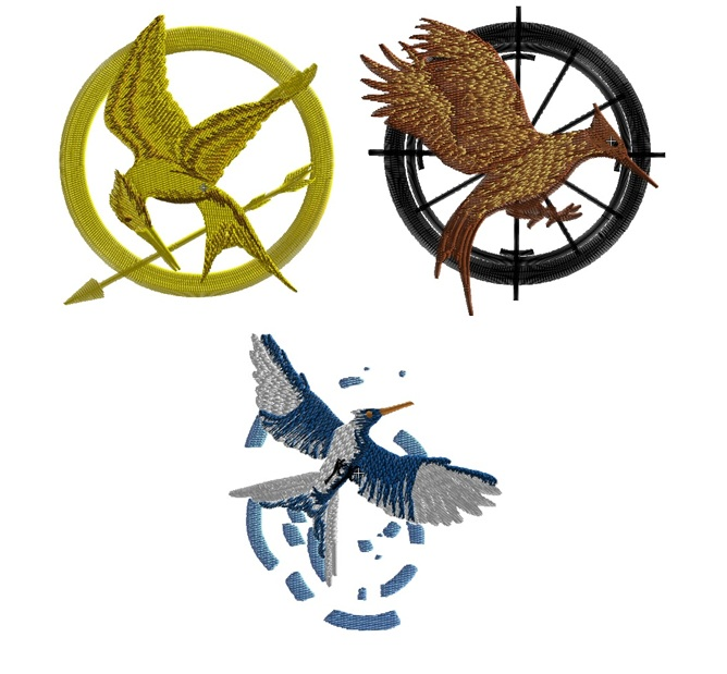 The Hunger Games Set of 3 in 2 sizes