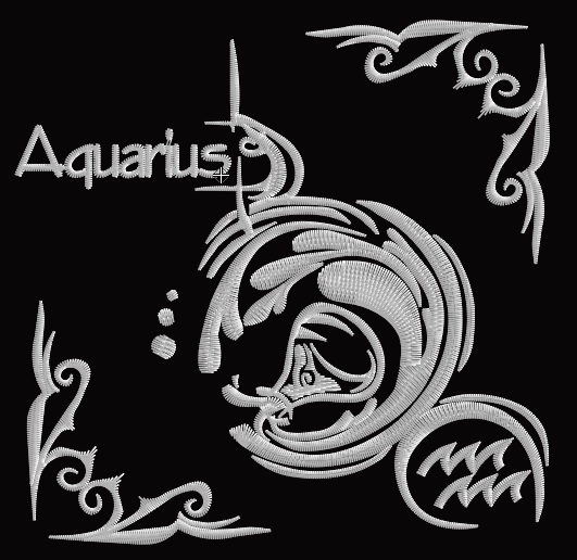 Zodiac Blocks - Aquarius
