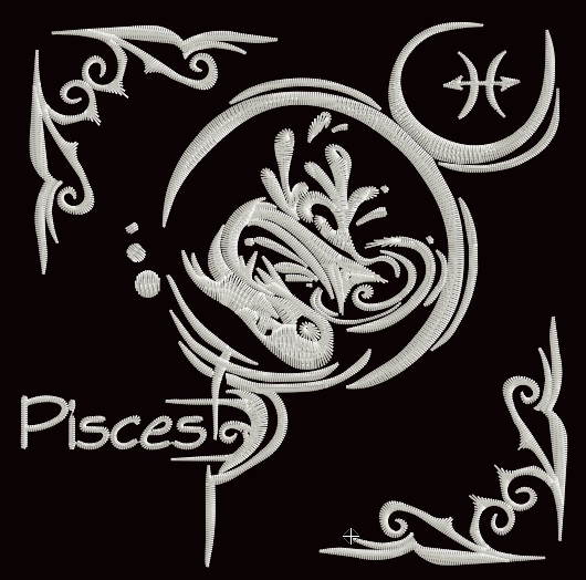 Zodiac Blocks - Pisces