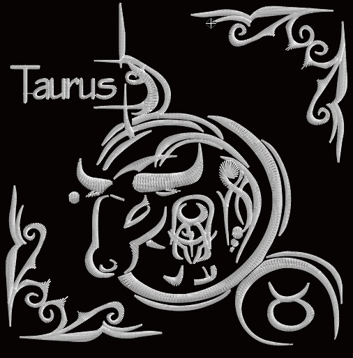 Zodiac Blocks - Taurus